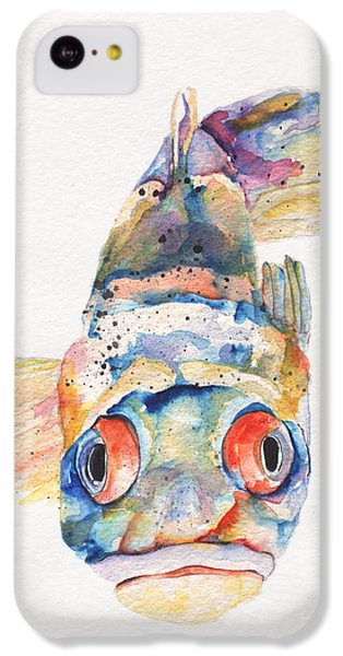 Blue Fish   IPhone 5c Case by Pat Saunders-White