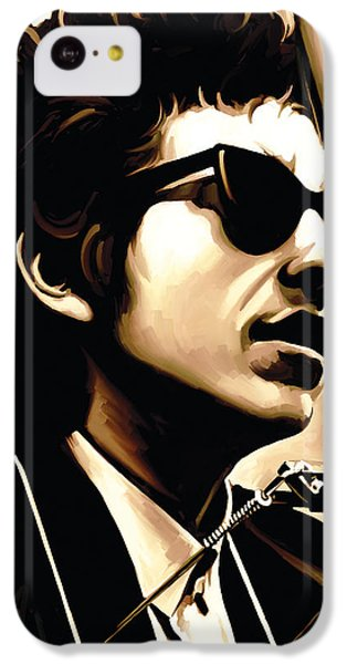 Bob Dylan Artwork 3 IPhone 5c Case by Sheraz A