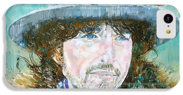 Bob Dylan Oil Portrait IPhone 5c Case by Fabrizio Cassetta