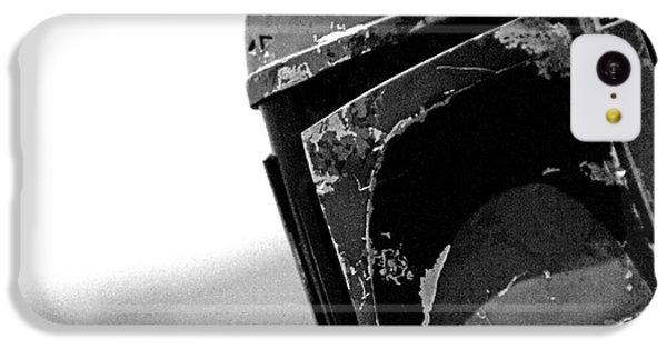 Boba Fett Helmet 24 IPhone 5c Case by Micah May