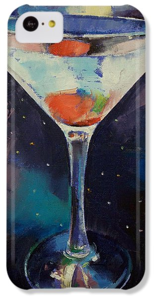 Bombay Sapphire Martini IPhone 5c Case by Michael Creese