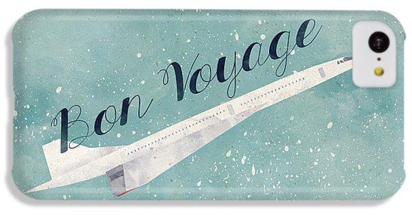 Bon Voyage IPhone 5c Case by Randoms Print