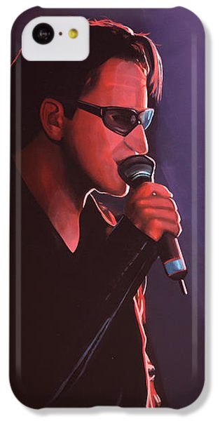 Bono U2 IPhone 5c Case by Paul Meijering