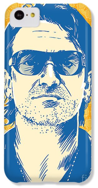 Bono Pop Art IPhone 5c Case by Jim Zahniser