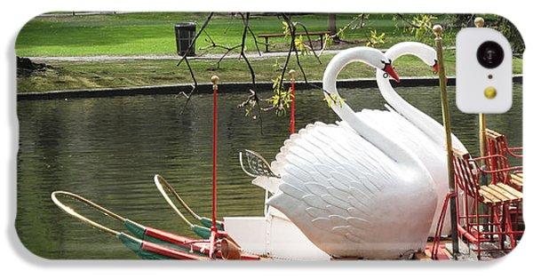 Boston Swan Boats IPhone 5c Case by Barbara McDevitt