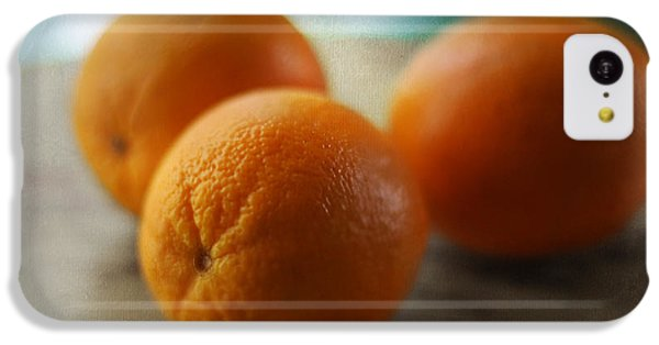 Breakfast Oranges IPhone 5c Case by Amy Tyler