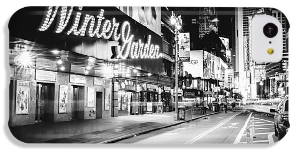 Broadway Theater - Night - New York City IPhone 5c Case by Vivienne Gucwa