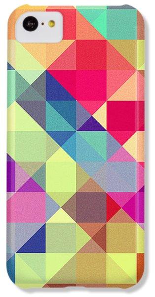 Broken Rainbow II IPhone 5c Case by VessDSign