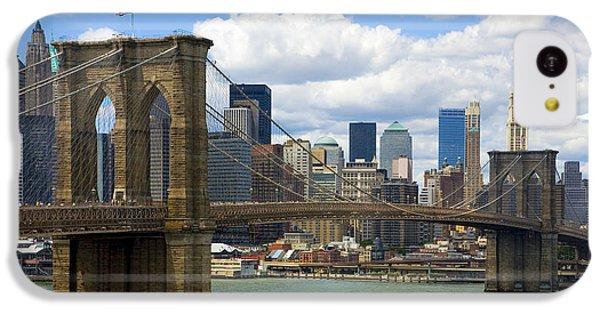 Brooklyn Bridge IPhone 5c Case by Diane Diederich