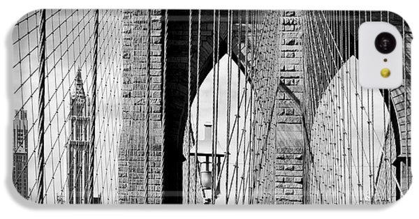 Brooklyn Bridge New York City Usa IPhone 5c Case by Sabine Jacobs