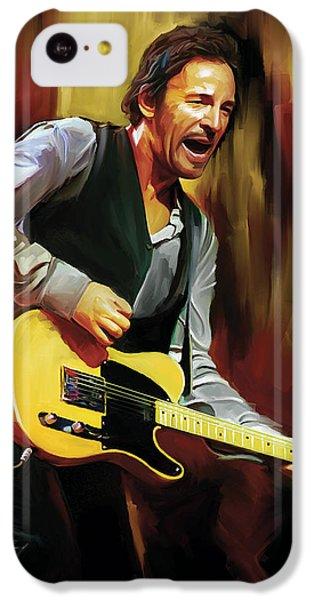 Bruce Springsteen Artwork IPhone 5c Case by Sheraz A