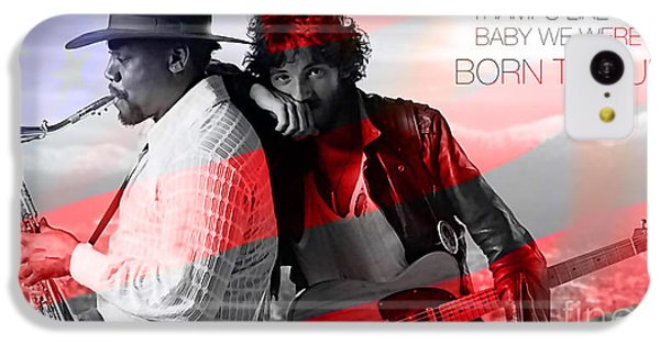 Bruce Springsteen IPhone 5c Case by Marvin Blaine