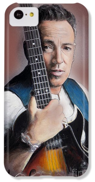 Bruce Springsteen IPhone 5c Case by Melanie D