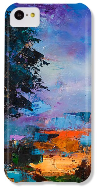 By The Canyon IPhone 5c Case by Elise Palmigiani