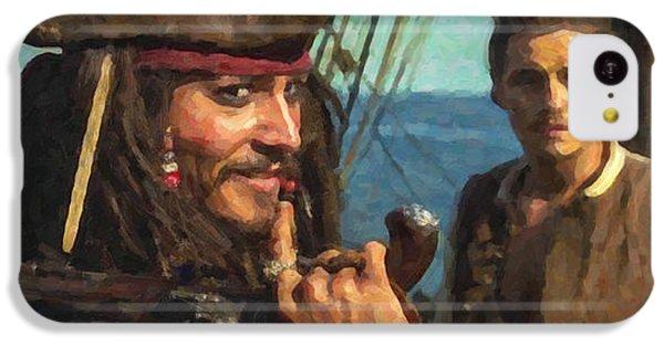 Cap. Jack Sparrow IPhone 5c Case by Himanshu  Dubey