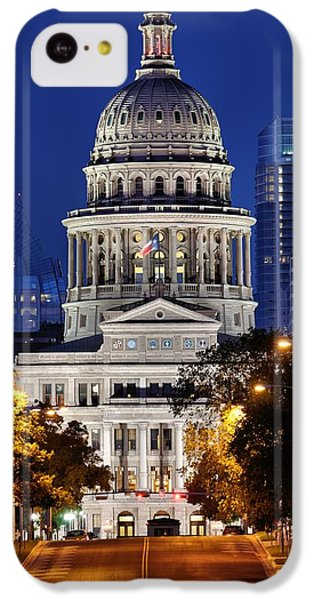 Capitol Of Texas IPhone 5c Case by Silvio Ligutti
