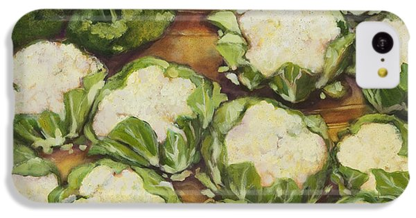 Cauliflower March IPhone 5c Case by Jen Norton