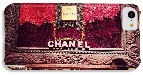 Chanel No.5 #chanel #perfume #flowers IPhone 5c Case by Shirly Sham