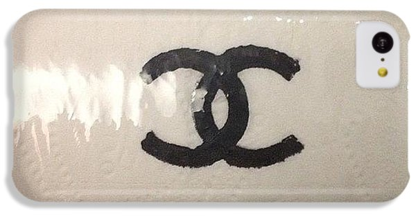 Chanel iPhone 5C Cases - #chanel #toilet #paper iPhone 5C Case by Tadela Wallace
