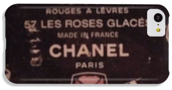 Chanel iPhone 5C Cases - #chanel iPhone 5C Case by Victoria O