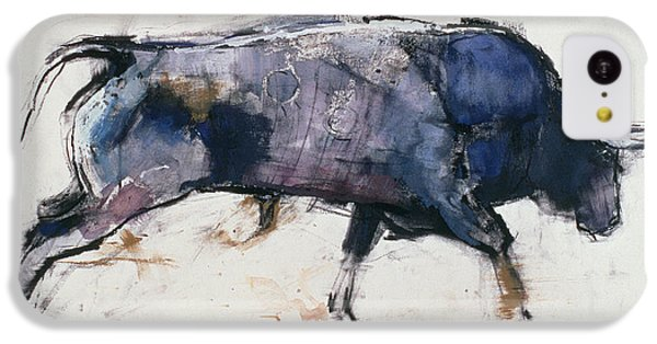 Charging Bull IPhone 5c Case by Mark Adlington