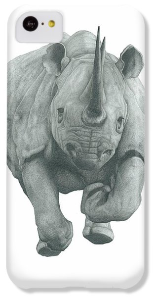 Charging Rhino IPhone 5c Case by Rich Colvin