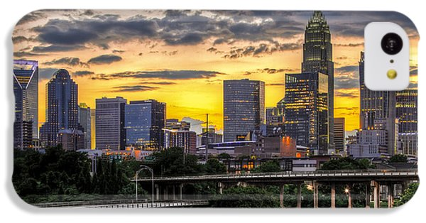 Charlotte Dusk IPhone 5c Case by Chris Austin