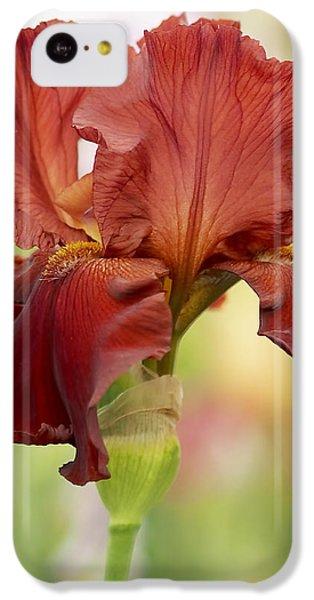 Chelsea Iris IPhone 5c Case by Rona Black