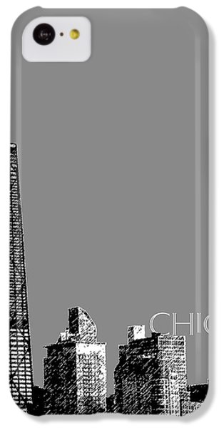 Chicago Hancock Building - Pewter IPhone 5c Case by DB Artist
