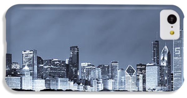 Chicago In Blue IPhone 5c Case by Sebastian Musial