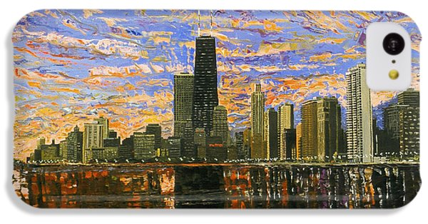 Chicago IPhone 5c Case by Mike Rabe