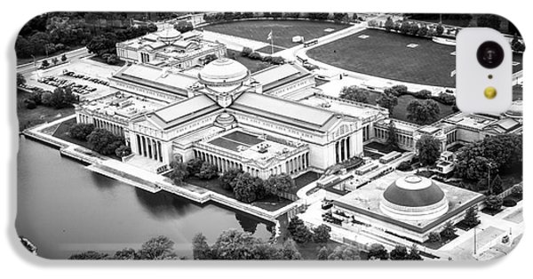 Chicago Museum Of Science And Industry Aerial View IPhone 5c Case by Paul Velgos