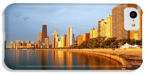 Chicago Skyline IPhone 5c Case by Sebastian Musial