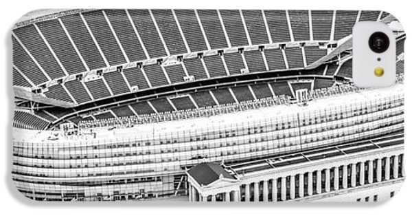 Chicago Soldier Field Aerial Panorama Photo IPhone 5c Case by Paul Velgos