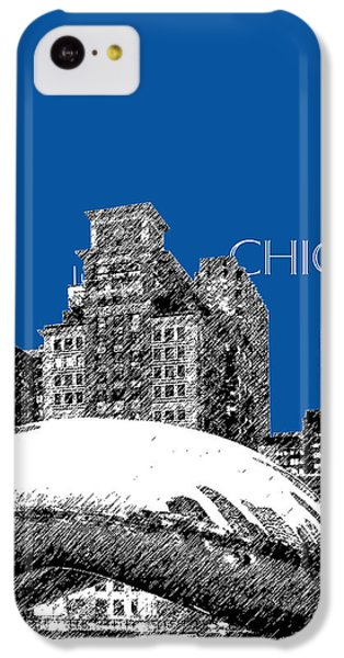 Chicago The Bean - Royal Blue IPhone 5c Case by DB Artist