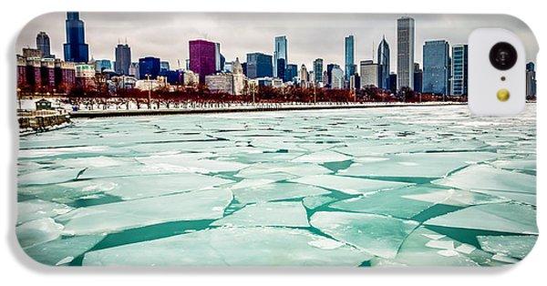 Chicago Winter Skyline IPhone 5c Case by Paul Velgos