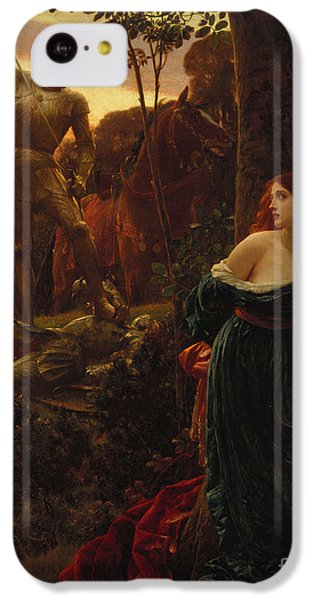 Chivalry IPhone 5c Case by Sir Frank Dicksee