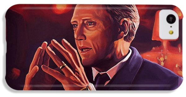 Christopher Walken Painting IPhone 5c Case by Paul Meijering