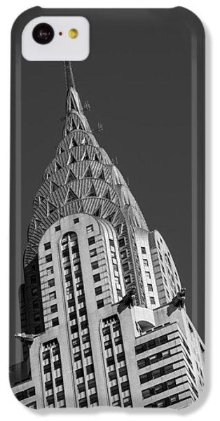 Chrysler Building Bw IPhone 5c Case by Susan Candelario