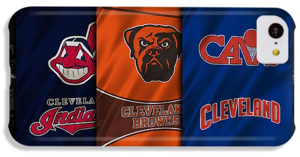 Cleveland Sports Teams IPhone 5c Case by Joe Hamilton
