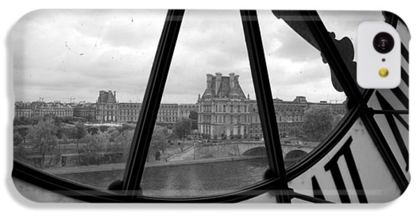 Clock At Musee D'orsay IPhone 5c Case by Chevy Fleet