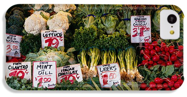 Close-up Of Pike Place Market, Seattle IPhone 5c Case by Panoramic Images