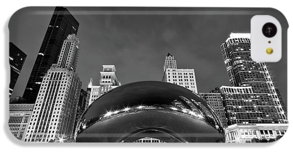 Cloud Gate And Skyline IPhone 5c Case by Adam Romanowicz