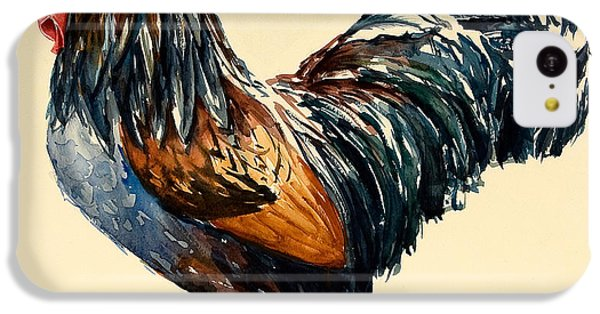 Cockerel IPhone 5c Case by Alison Cooper
