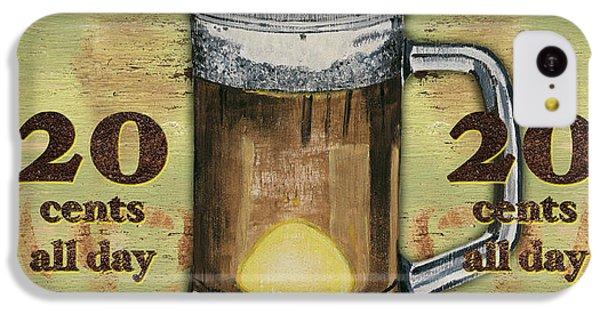 Cold Beer IPhone 5c Case by Debbie DeWitt