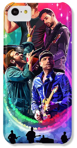 Coldplay Mylo Xyloto IPhone 5c Case by FHT Designs