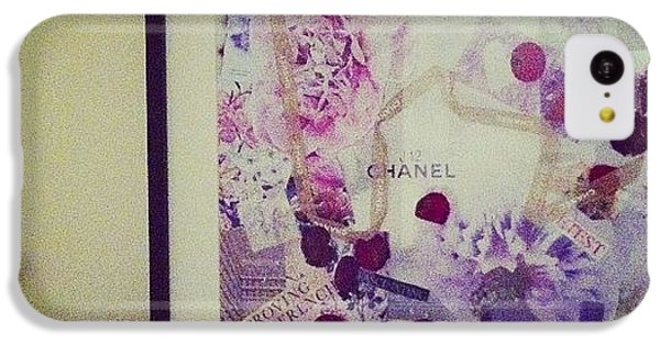 Chanel iPhone 5C Cases - Collaging With @chloesarahwhite #chanel iPhone 5C Case by Lauren Crowe