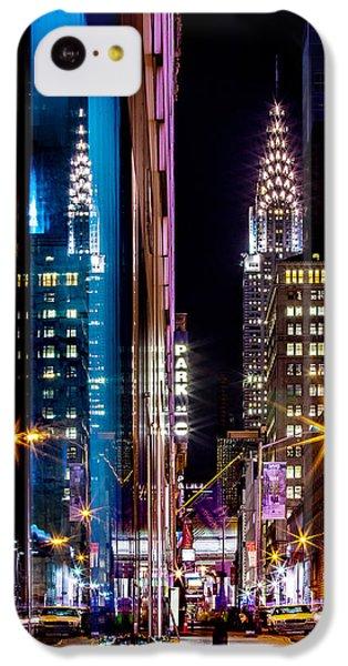 Color Of Manhattan IPhone 5c Case by Az Jackson