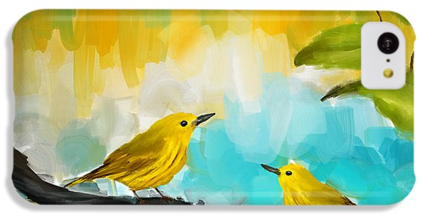 Companionship IPhone 5c Case by Lourry Legarde