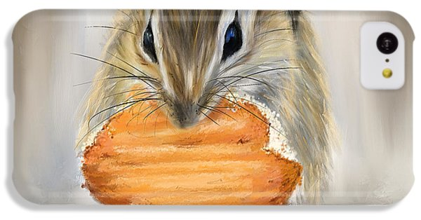 Cookie Time- Squirrel Eating A Cookie IPhone 5c Case by Lourry Legarde